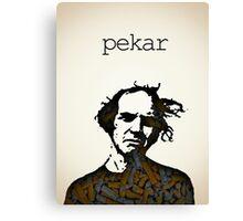 Icons - Harvey Pekar Canvas Print