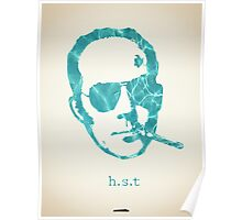 Icons - Hunter S. Thompson Poster