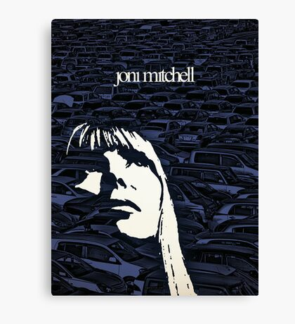 Icons - Joni Mitchell Canvas Print
