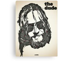 Icons - Jeff Lebowski Canvas Print
