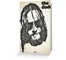 Icons - Jeff Lebowski Greeting Card