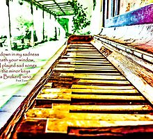 Broken Piano Lomo by Livonne