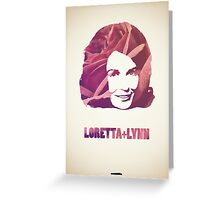 Icons - Loretta Lynn Greeting Card