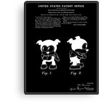Bimbo Patent - Black Canvas Print