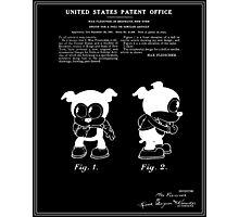 Bimbo Patent - Black Photographic Print