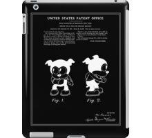 Bimbo Patent - Black iPad Case/Skin