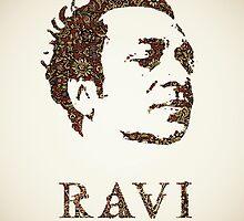 Icons - Ravi Shankar by ponton