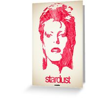 Icons - David Bowie Greeting Card