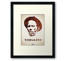 Icons - Tom Waits Framed Print