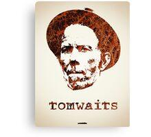 Icons - Tom Waits Canvas Print