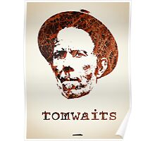 Icons - Tom Waits Poster