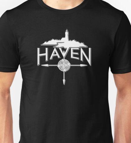 Haven White Logo Unisex T-Shirt