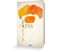 Icons - Frank Zappa Greeting Card