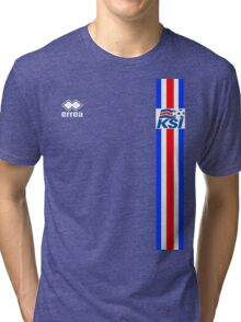 Euro 2016 Football - Iceland Tri-blend T-Shirt