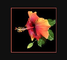 YELLOW AND ORANGE HAWAIIAN BEAUTY Unisex T-Shirt