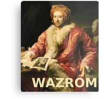 WAZROM! Metal Print