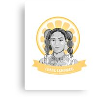 i was served lemons Canvas Print