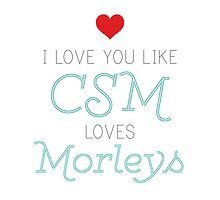 CSM Loves Morleys by projectphile