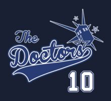 Tenth Doctor Baseball Tee Kids Clothes