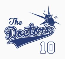 Tenth Doctor Baseball Tee by vestigator