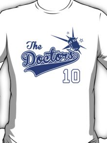Tenth Doctor Baseball Tee T-Shirt