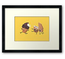 i-Scream Framed Print