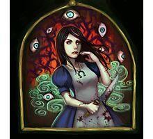 alice: evil eyes Photographic Print