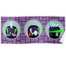 Haunted Mansion Mirrors Poster