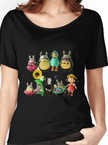 ghibli and friends Women's Relaxed Fit T-Shirt