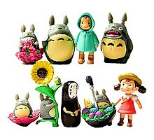 ghibli and friends Photographic Print