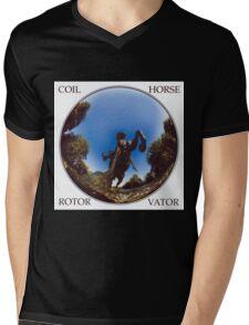 coil - horse rotor vator Mens V-Neck T-Shirt