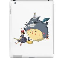 1big totoro fly iPad Case/Skin
