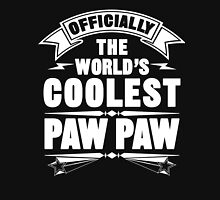 Official The World's Coolest Paw Paw Unisex T-Shirt