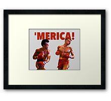 ROCKY - 'MERICA Framed Print