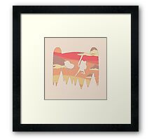 Adventure Time water colour Framed Print
