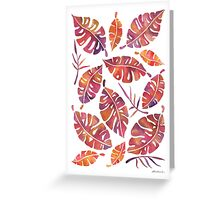Tropic Fever Greeting Card