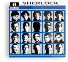 Sherlock- A Hard Day's Night  Metal Print