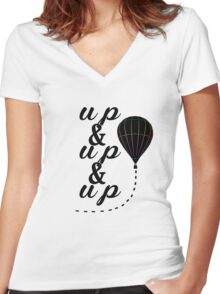 Up & Up Women's Fitted V-Neck T-Shirt