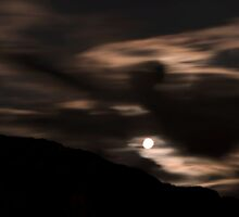 Summer Solstice Full Moon by Jean Poulton