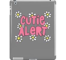 Cutie Alert! iPad Case/Skin