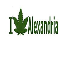 I Love Alexandria by Ganjastan