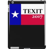 """TEXIT 2017"" Texas State Flag iPad Case/Skin"