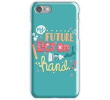 TYPOGRAPHY iPhone Case/Skin