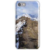 Swiss Alps hike iPhone Case/Skin