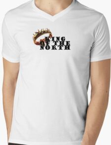 Game of Thrones - King of the north Mens V-Neck T-Shirt