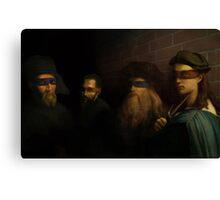 The Old Ninja Masters Canvas Print