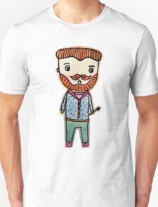 van gogh watercolor doodle Unisex T-Shirt