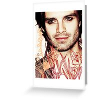 Sebastian Stan  Greeting Card