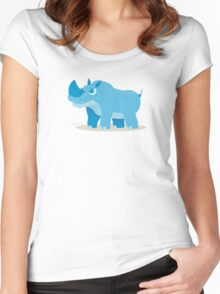 Blue Rhino Women's Fitted Scoop T-Shirt