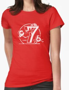 Funny Math Shirt Seven Ate Nine Womens Fitted T-Shirt